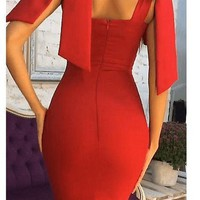 Heartbreak Hotel Bandage Midi Dress