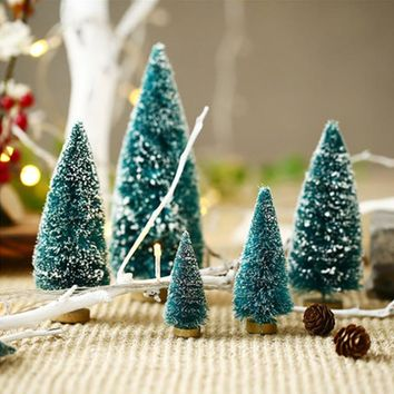 Christmas tree model Home Decoration accessories sand table making window display Furnishings lovely cedar tree Display Crafts
