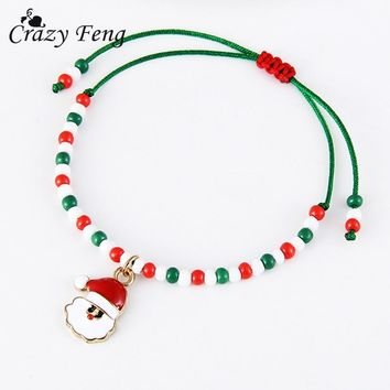2018 Fashion Jewelry Handmade Thread Bracelet for Women Best Friend Friendship Gift Christmas Children Popular Bracelet Bangle