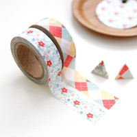 Pattern Masking Tape Set 02
