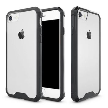 Shockproof Rugged Rubber Silicone Hard Case Cover Skin for Apple iPhone 7 7 PLUS