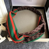 GUCCI fashion brand new stylish silk headband hair band F