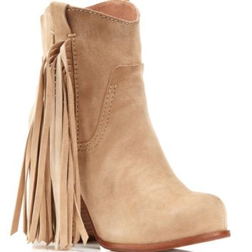 Jeffrey Campbell Bronco Fringe Booties | Bloomingdales's