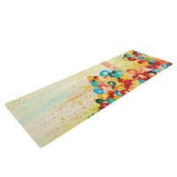 "Ebi Emporium ""Summer in Bloom"" Yoga Mat"