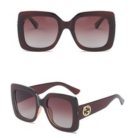 Gucci Woman Fashion Summer Sun Shades Eyeglasses Glasses Sunglasses-70