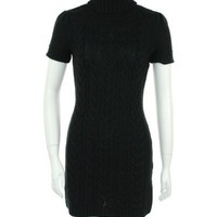 INC International Concepts Cable Knit Turtleneck Dress