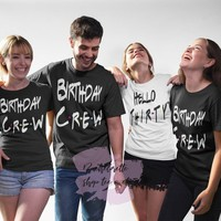 Getting Dirty for my 30, 30th Birthday Party Shirts, Hello Thirty, Birthday Crew, Drity Thirty, Dirty Squad, Bday party shirts, Friends Tees