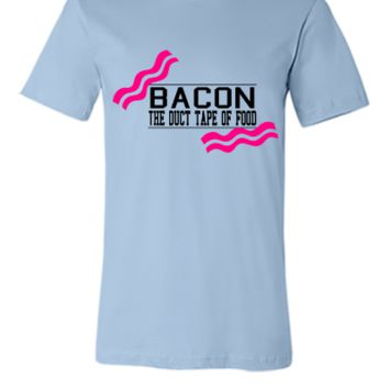 Bacon- Duct tape of food - Vector - Unisex T-shirt