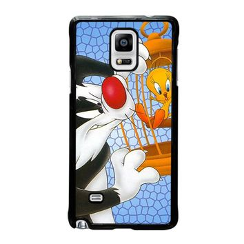 SYLVESTER AND TWEETY Looney Tunes Samsung Galaxy Note 4 Case Cover