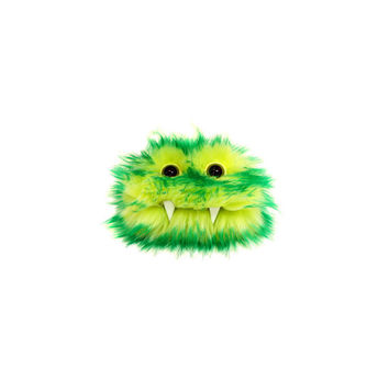 Kirk the Eco-Friendly Monster - Kawaii - Green Yellow Furry Altered Altoids Tin