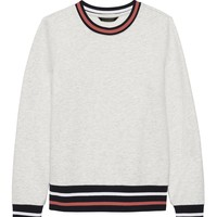 Crew-Neck Sweatshirt | Banana Republic