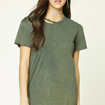 Raw-Cutout Top