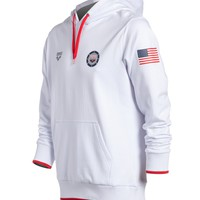 Arena USA Swimming Hooded Sweatshirt at SwimOutlet.com - Free Shipping
