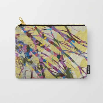 Confetti Branches Carry-All Pouch by Heidi Haakenson