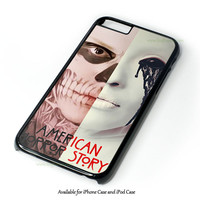 American Horror Story Asylum Tate Langdon iPhone 4 4S 5 5S 6 6 Plus Case and iPod Touch 4 5 Case