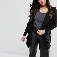 New Look Plus Jersey Cardigan at asos.com