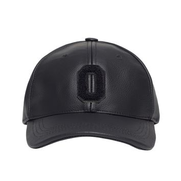 "LEATHER ""O"" SPORTCAP SNAPBACK SPORTCAP 