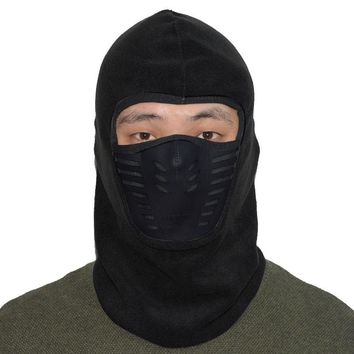 Winter Warmer Cycling Face Mask Windproof Dust-proof Fleece Bike Full Face Scarf Mask Neck Bicycle Snowboard Ski Mask