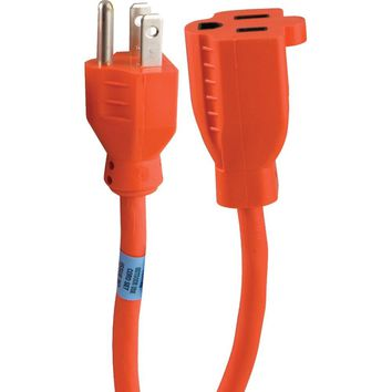 Ge 1-outlet Indoor And Outdoor Extension Cord (9ft)