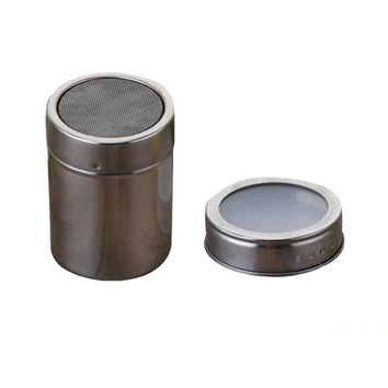 Spice Storage 1pc Stainless Steel Magnetic Spice Storage Jar Tins Container With Rack Holder Kitchen Tool Drop Shipping 17sep13