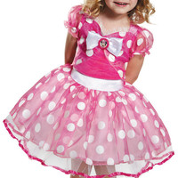 Pink Minnie Mouse Deluxe Tutu Toddler Costume