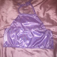 Disco Princess Halter Lilac from Party Cat!