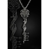 Key to Wonderland Pendant Necklace