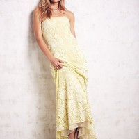 Free People Queen Anne Lace Gown