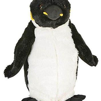 "Wildlife Tree 8.5"" King Penguin Stuffed Animal Plush Floppy Zoo Animal Den Collection"