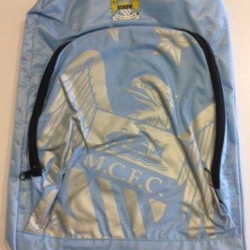 Manchester City FC Official Foil Backpack NEW