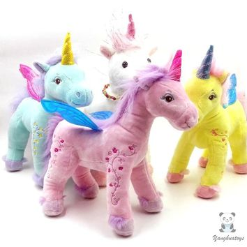 Pegasus Unicorn Stuffed Animal Plush Toy 11""