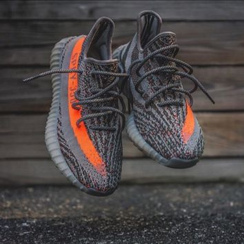 Adidas Yeezy 550 Boost 350 V2 Grey Orange from charmvip  87bae747e