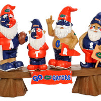 Florida Gators Garden Gnome - Fans on Bench