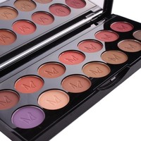 Miss Rose Brand Matte Eyeshadow Waterproof Easy to wear Natural Makeup Eye Shadow Palette