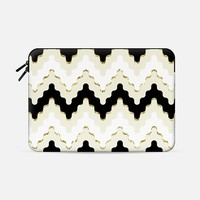 "Wavy Chevron (sleeve) Macbook Pro Retina 15"" sleeve by Tracey Coon 
