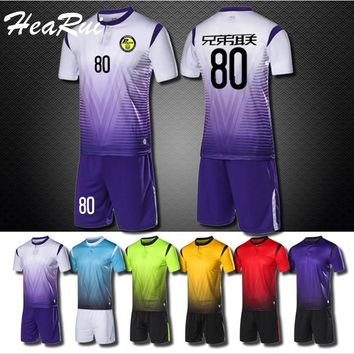 b5b3255fba0 Hearui Customize 2017/2018 Men's Professional Football Suits Set