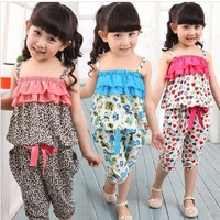 Girls Bohemian Spaghetti Strap 2 PC
