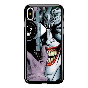 Joker Harley Quinn Batman Avengers iPhone X Case