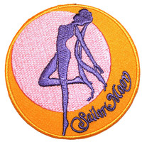 Sailor Moon Iron On Patch Embroidery Sewing DIY Customise Denim Cotton Cute Feminist Kawaii Anime Japan Cartoon Pastel Scout