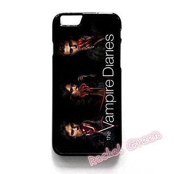 THE VAMPIRE DIARIES cell Phone Case Cover For iPhone 4S 5 5S SE 5C 6 6S Plus 7 7Plus Samsung Galaxy S5 S6 S7 edge shell