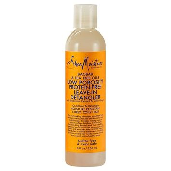 SheaMoisture® Low Porosity Baobab & Tea Tree Oils Protein-Free Leave-In Detangler 8oz