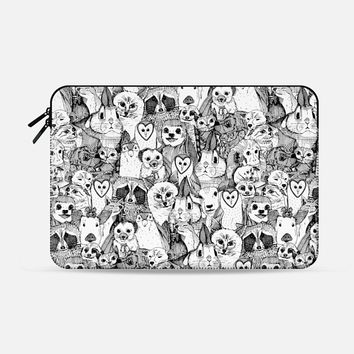 love and hugs Macbook Pro 13 sleeve by Sharon Turner | Casetify