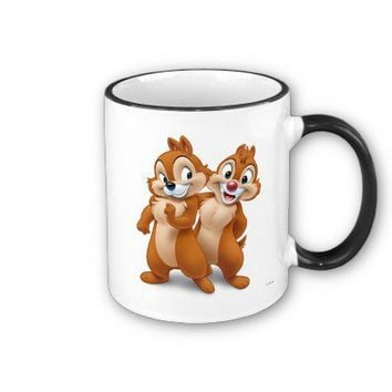Chip and Dale Disney Coffee Mug from Zazzle.com