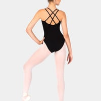 Free Shipping - Adult Camisole Leotard With Double Strap by CAPEZIO