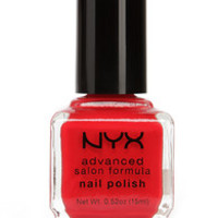 NYX Advanced Salon Formula Fire Red Nail Polish