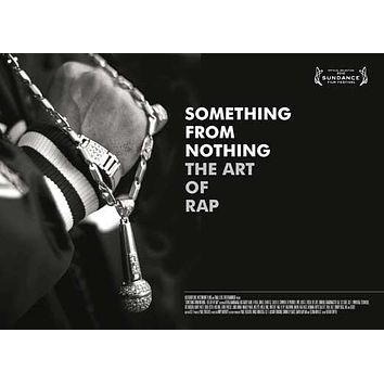 Something from Nothing: The Art of Rap 27x40 Movie Poster (2012)