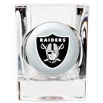 Personalized NFL Shot Glass - Raiders