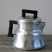 Primitive Stove Top Drip Coffee Maker Wear Ever Tacuco Aluminum Coffee Pot  Camp Coffee Kettle Vintage 1940s Percolator Coffee Paraphernalia