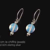 Helen opalite silver earrings