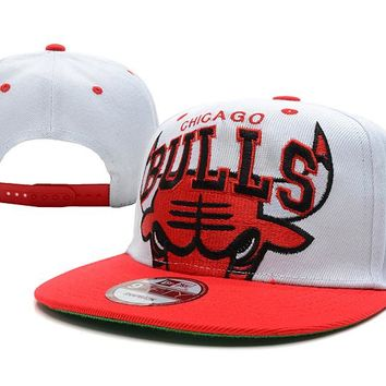 Chicago Bulls NBA 9FIFTY Cap White-Red